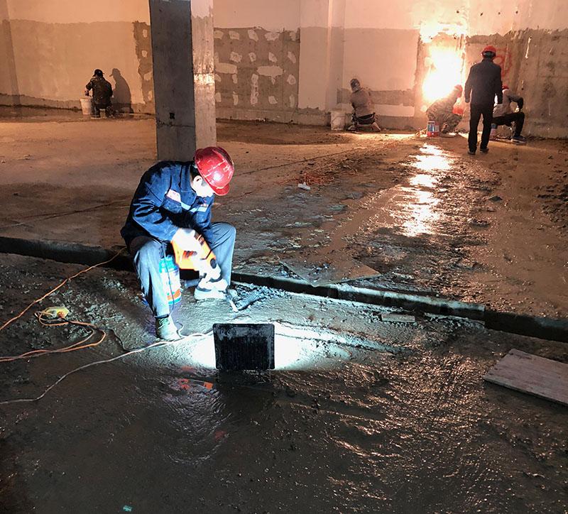 地下室伸缩缝堵漏