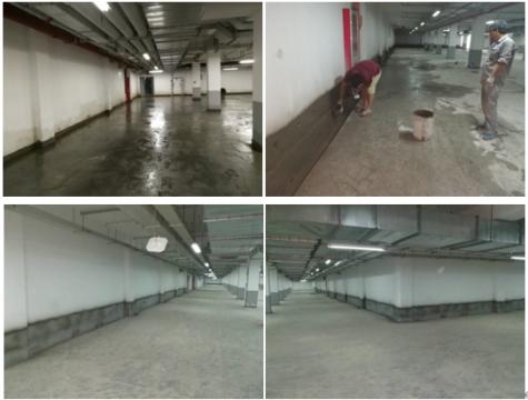 地下室往上冒水堵漏,有水流的情况下怎么堵漏
