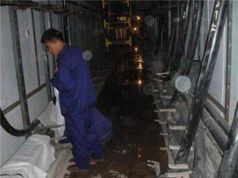 国家电网郑州某电缆沟(电缆管廊)防水堵漏施工案
