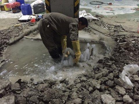 地下室连通口变形缝防水堵漏施工工艺施工案例