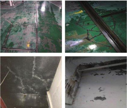 地下车库顶板漏水怎么处理(地下室顶板渗水堵漏)