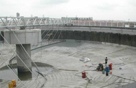 大型混凝土水池漏水如何处理?