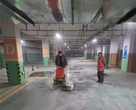 江苏盐城某地产地下室堵漏整体修缮工程