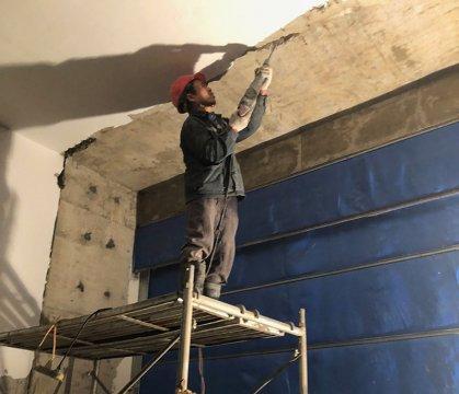 地下室沉降缝堵漏方法