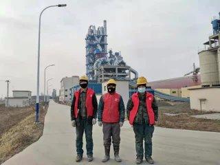 辽宁省铁岭市某水泥厂伸缩缝堵漏工程