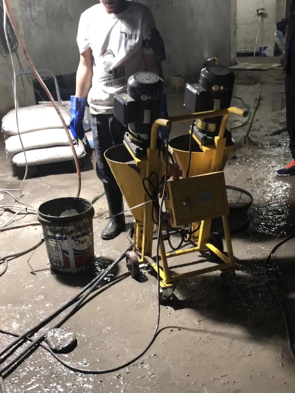 某小区地下室堵漏注浆工程