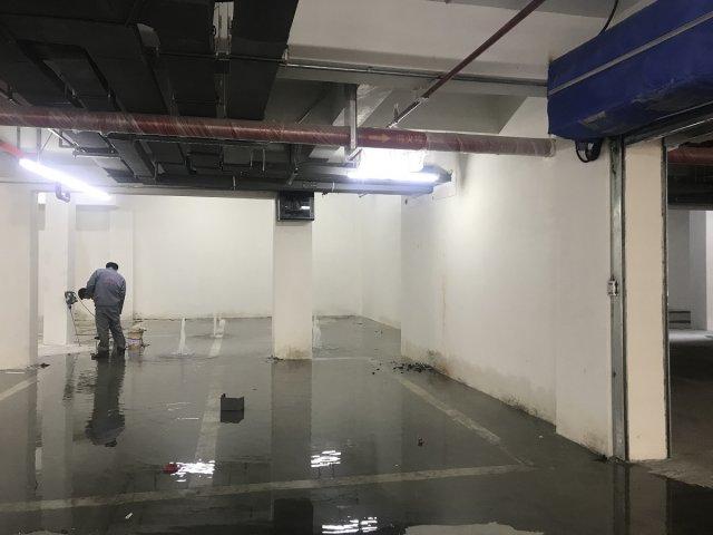 某地下室底板顶板堵漏工程
